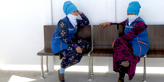 Коронавирус в Туркмению надуло с Арала